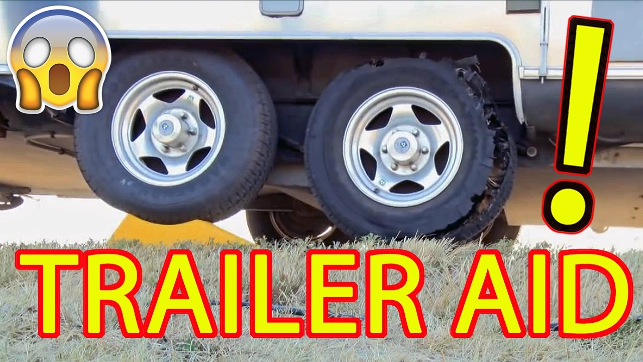 Trailer Aid Tire Changing Ramp Youtube