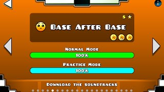 base after base 100 3 coins geomtry dash delo
