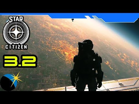 Spacing with my Crew! - Star Citizen 3.2.2 Gameplay