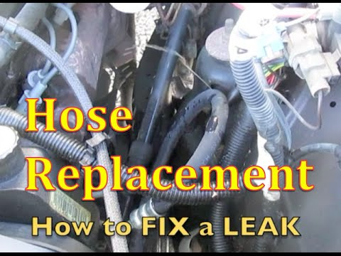 How to Change Dodge Ram Power Steering Hose *** High Pressure Hose