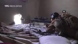 Syria Combat Footage - Battle of Raqqa - Polish Sniper At Work