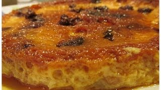 Bread Pudding (with Caramel Topping)