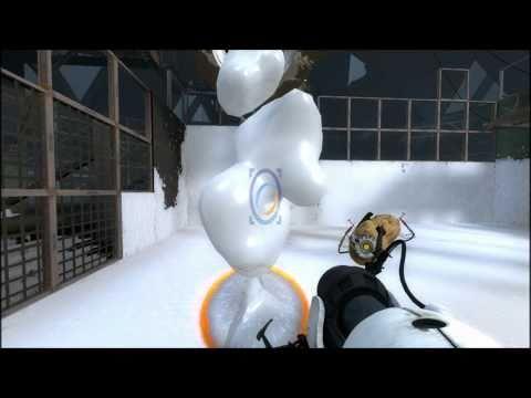 Portal 2 Gameplay  Flying Jizz Sexplosion