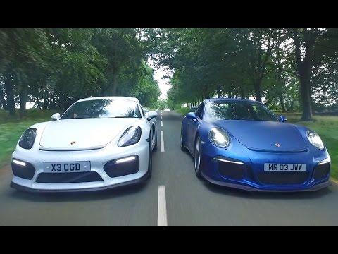 Porsche GT3 vs Porsche GT4