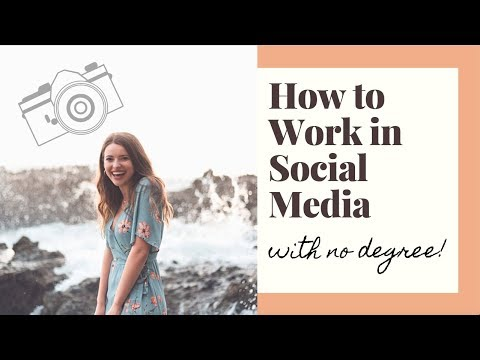 How I Got A Job In Social Media WITH NO DEGREE