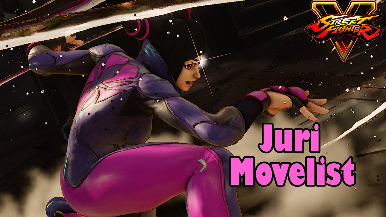 Street Fighter V Complete Move List For All Characters Tutorial
