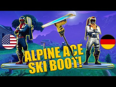 Alpine Ace - USA - GER - Ski Boot Harvesting Tool - Fortnite