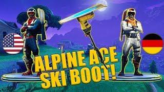 Ski Boots - Alpine Ace - USA - GER - Ski Boot Harvesting Tool - Fortnite
