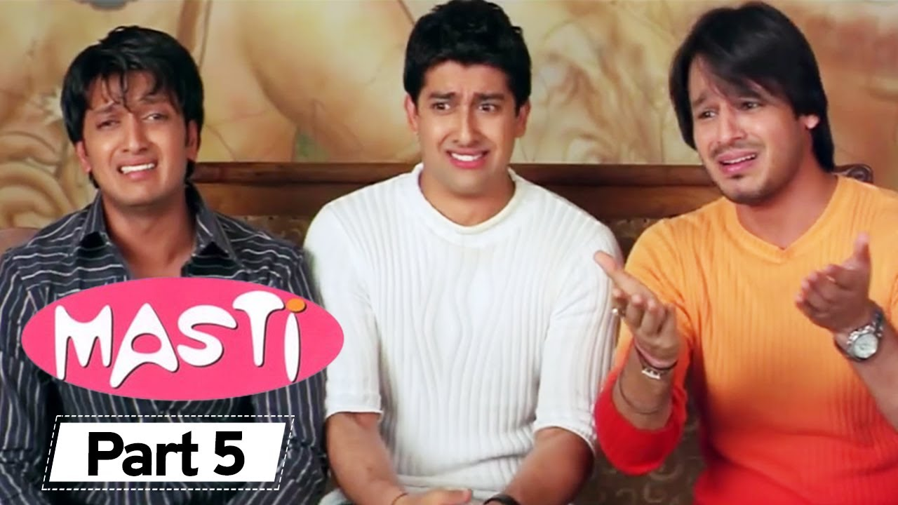 Masti  - Superhit Comedy Movie Part 5 - Vivek Oberoi - Aftab Shivdasani - Riteish Deshmukh#Comedy