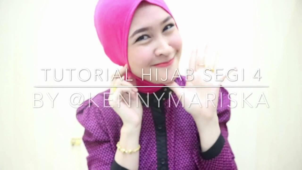 Tutorial Hijab Segi Empat Kepang Ala Kenny 1 YouTube