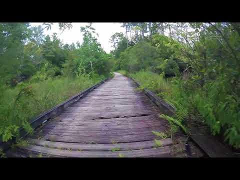 Crestview Florida Abandoned Golf Course Bike Ride
