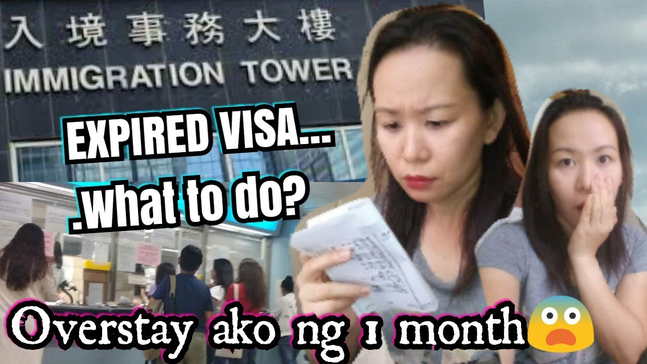 EXPIRED VISA || OVERSTAY? What to do? || BASED ON MY VERY OWN EXPERIENCE