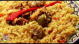 Плов из пропаренного длиннозёрного риса. Просто, вкусно, недорого.