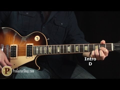 The Who - Substitute Guitar Lesson