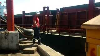 liman gemi kazası