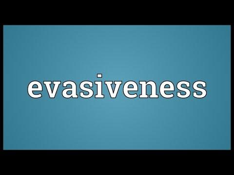 Header of evasiveness