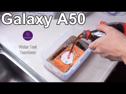 Samsung Galaxy A50 Waterproof Test