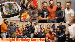 Midnight BIRTHDAY Surprise|ft.Rajveer fitness Series & my family ❤️