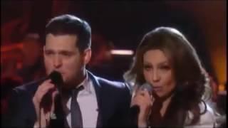 Michael Buble ft Thalia   Feliz Navidad Christmas Special