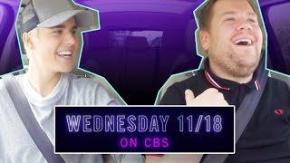 PREVIEW: Justin Bieber Returns for Carpool Karaoke Nov. 18