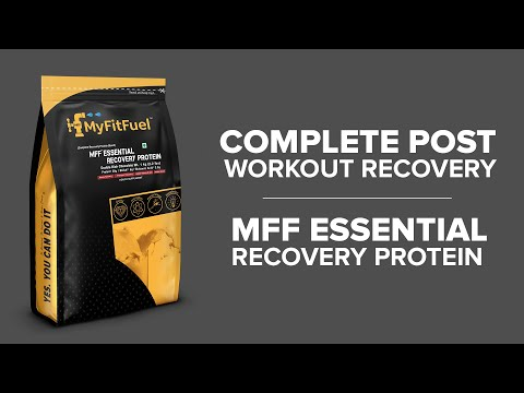 MFF Essential Recovery Protein | Your Post-workout recovery. Protein, Glycogen, Vitamins & Minerals.