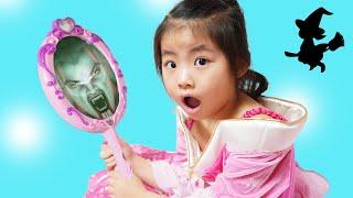 거울이 진짜 말을 해요!! 서은이의 요술 거울 장난감 백설공주 매직 미러 Telling Mirror Toy for Kids