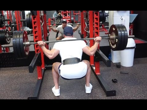 MY SQUAT ONLY LEG WORKOUT FOR SIZE!