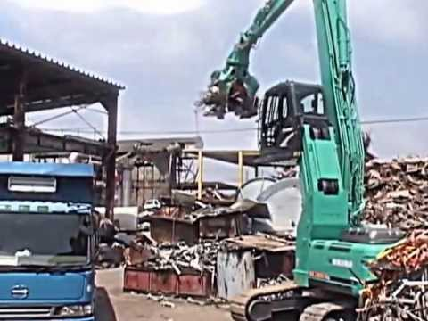 Kobelco Scrap Handler Machines