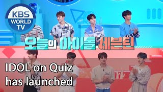 IDOL on Quiz has launched [IDOL on Quiz/ENG/2020.09.02]