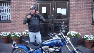 nick's new Harley Davidson Rocker C 2009