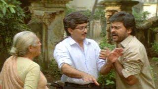 నన్ను సోంబేరి అంటావంటే ముసలిదానా.. | Chiranjeevi & Nirmalamma Funny Scenes | Comedy Express