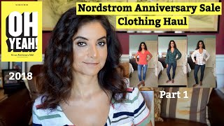 Nordstrom Anniversary Sale Clothing Haul 2018