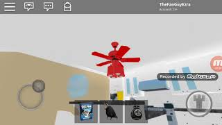 Ceiling Fans In Noah's Roblox House