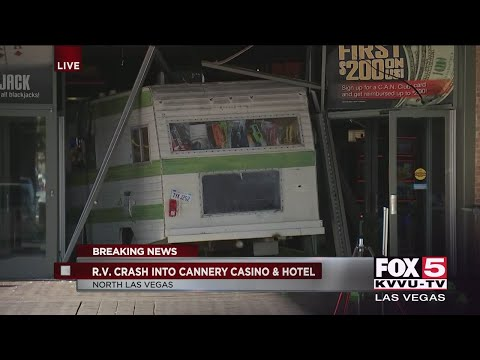 Frosty - Ticked off R.V. driver crashes into North Vegas casino