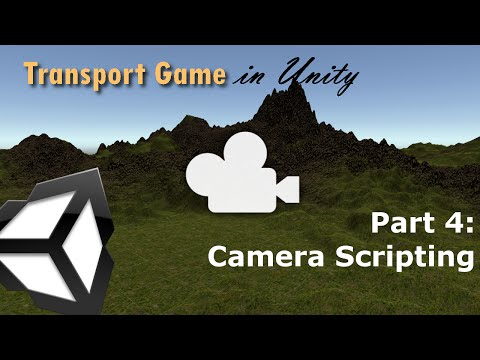 Camera Scripting (RTS Camera) | Transport Game in Unity 5 (Part 4)