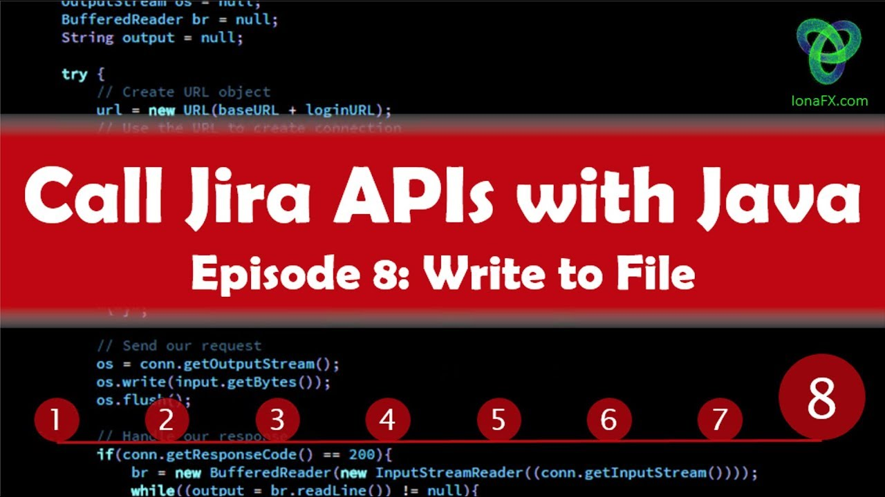 Create a Java App to extract data from the Jira REST APIs - Ep  8