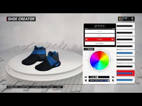 NBA 2K17 Shoe Creator - Nike Kyrie 2 Custom  Denver Nuggets   9437586af
