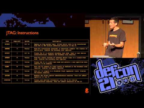 DEF CON 21 - Joe Grand - JTAGulator Assisted Discovery Of On Chip Debug