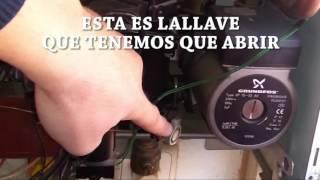 Tutorial para subir la presión de agua de la calefacción en calderas Chaffoteaux & Maury 720p