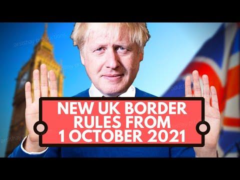 BREAKING NEWS: NEW UK BORDER RULES FROM 1 OCTOBER 2021   UK IMMIGRATION   VISA UK