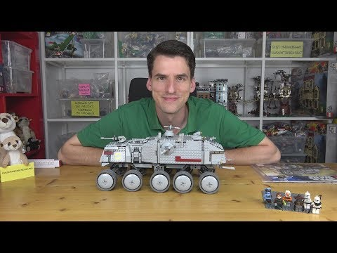 Noch mehr Spaß mit dem Dropship! LEGO® Star Wars 8098 - Clone Turbo Tank