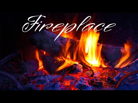 New Year Fireplace JAZZ - Smooth JAZZ & Bossa Nova - Chill Out Music