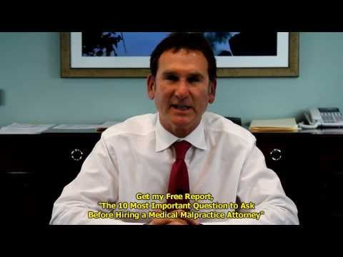 Personal Injury Lawyer Gives Medical Malpractice Los Angeles Info | Santa Monica