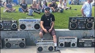Vintage 80s Boombox Meet in Venice Beach 2017