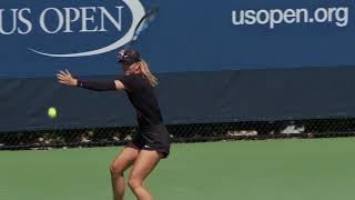 2017 US Open: Maria Sharapova practice