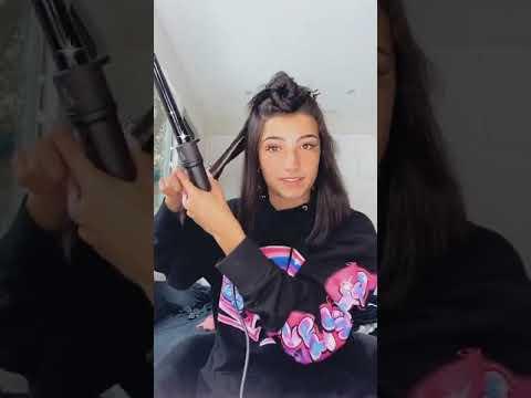 Charli D'Amelio hair + makeup Instagram IG live 2020