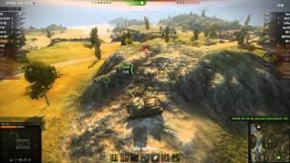 Т-34-85 - кость в горле(Т-34-85 взял позицию в центре карты Рудники. Танк держал эту позицию фактически весь бой будто кость в горле..., 2013-07-25T00:18:18.000Z)