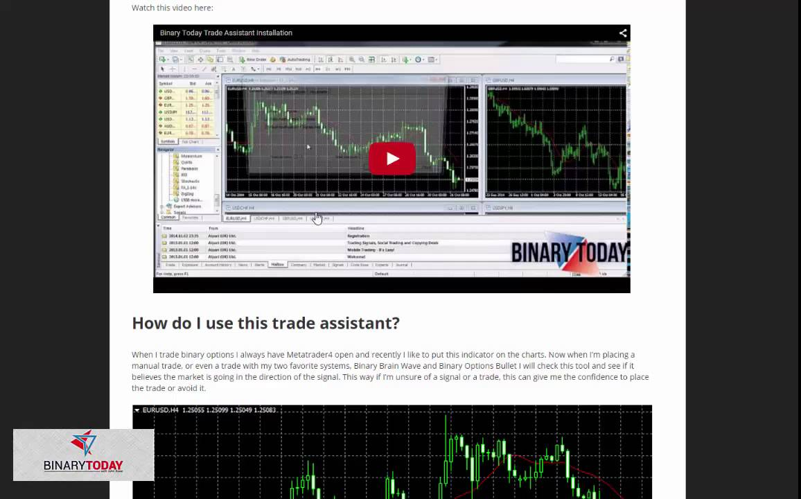 Binary options software free