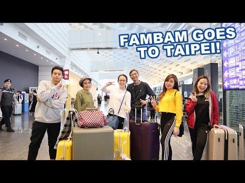 BUDGET TRAVEL TO TAIWAN (FAMILY VLOG)    Haidee and Hazel