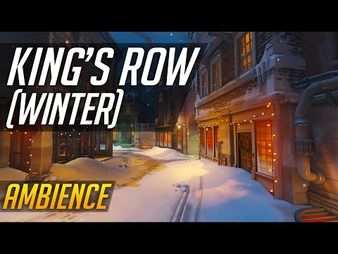 Overwatch - Ambience - King's Row (Winter)